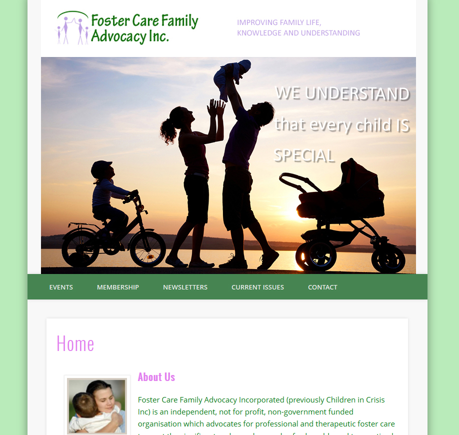 Foster Care Family Advocacy